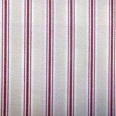 Rouge Bay Stripe Fabric