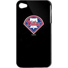 Tribeca Varsity Jacket Solo Case For iPhone 4, Philadelphia Phillies, Black