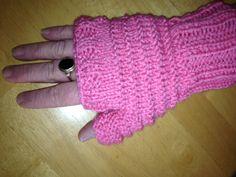 Fingerless mittens at HomeSpun Creations Gift Shop