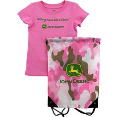 John Deere Baby Girls Cow Bootie 1 Pack