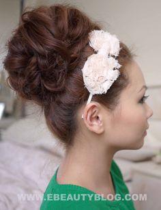 EbeautyBlog.com: Special Occasion Big Bouffant Hair Tutorial