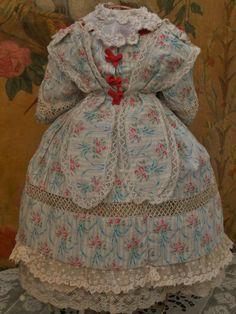 ~~~ Marvelous French Enfantin Poupee Costume ~~~