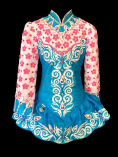 Off The Rack Irish Dance Dresses for Sale.  Creating Fabulous, one of a kind dresses for young dancers worldwide.