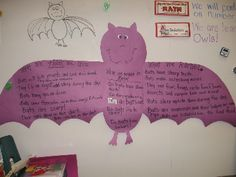This KWL chart though about bats reminded of the use of the KWL chart about cartoonists in the Xu article.  I feel that KWL charts are a great way to understand what your students know already about a certain topic and can better direct you in your lesson planning for that particular topic.  I feel that a KWL would be extremely helpful when planning a lesson that involves some type of pop culture phenomenon that students in your classroom seem to be interested in.