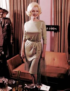 Marilyn in Mexico in February 1962.