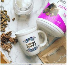<3 this cup fo happy mug & want one - I saw on the #tiu tone it up 4/18/17 target tiu protein newsletter.    I tried finding the exact instagram account so I can tag them in it, but couldn't.  if you find it please let me know.