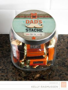Father's Day Treat Jar | Kelly Rasmussen