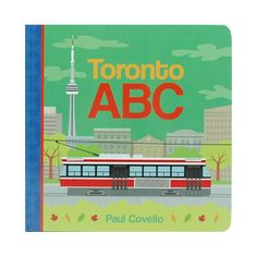 DETAILS The Toronto ABC book is a wonderful way to learn the alphabet through the city of Toronto. written by Paul Covello, published by Harper Collins Learning The Alphabet, Story Time, Little Ones, Kids Toys, Toronto, Boards, Writing, Reading, Mini