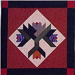 Log Cabin Flower Quilts
