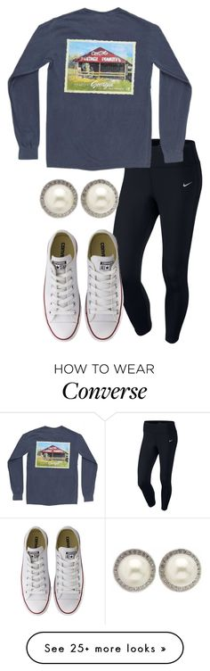 """New Tag In Description!"" by hailstails on Polyvore featuring NIKE, Converse, Kabella Jewelry and ABCnames"