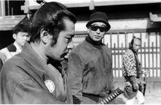Kurosawa with Toshiro Mifune