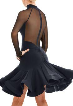 Champion Wear, Underwear Pattern, Salsa Dress, Latin Ballroom Dresses, Tango Dress, Dance Fashion, Skating Dresses, High Collar, Dance Outfits