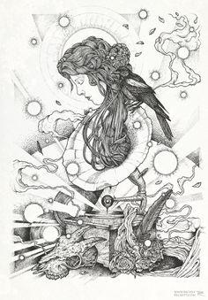Richey Beckett  mermaid