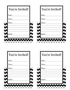Free Printable Birthday Invitations For Kids #
