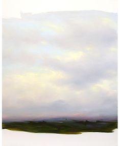 Peter Frie. Gewölk 24.07 2005 oil on canvas 190 x 150 cm