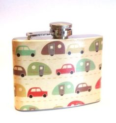 The ultimate camper's flask | From PoppyChic on Etsy