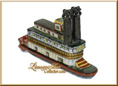 River Cruise Steamboat Limoges Box - Retired  $259