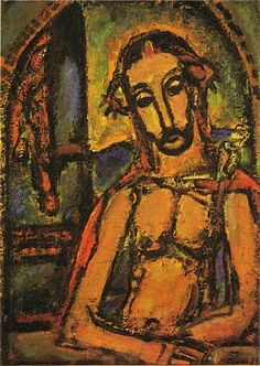 ECCE HOMO (1937 - 1949)  Georges Rouault, defied conventional labeling