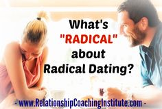 """When you're single and seeking to find the love of your life, regular """"dating"""" is frustrating and doesn't work. Radical Dating is for the many singles over 40 who want to settle down and grow old with their soul mate, but have no idea how to do so. Follow the progress of our RadicalDating TV series!  http://radical-dating.com/what-is-radical-about-radical-dating/  #RCI #RadicalDating #Relationship #Dating #singles"""