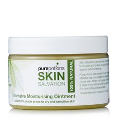 218737 Pure Potions Skin Salvation Moisturising Ointment 150ml -  QVC Price:£16.00 + P&P: £2.95 - This item is available through Advanced Order. It will be shipped the week commencing 25/07/2016. Ointment can be used from 6 weeks old upwards