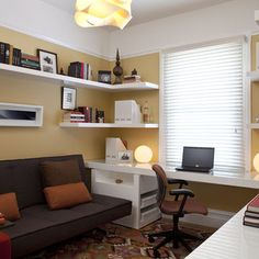 Small Guest Roomoffice Design Ideas, Pictures, Remodel, and Decor - page 5