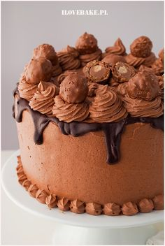 tort smietanowy Tiramisu, Oreo, Ethnic Recipes, Cakes, Food, Cake Makers, Kuchen, Essen, Cake