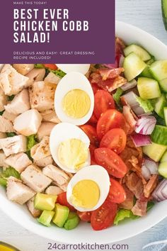 Here's your easy summertime salad recipe! Dairy Free Recipes, Paleo Recipes, Real Food Recipes, Gluten Free, Paleo Side Dishes, Food Dishes, Healthy Eating Recipes, Healthy Meals, Summertime Salads