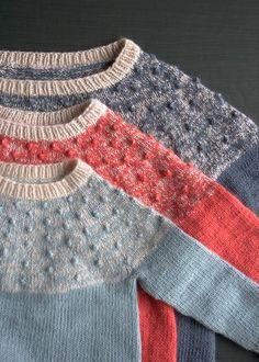 purl soho   products   item   bobble yoke sweater (purl soho)