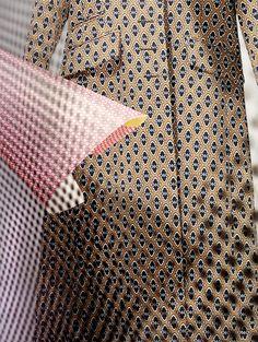 Tapeten-Looks: Mantel von Prada
