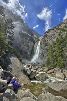 Yosemite National Park - Some American National Parks also offer great tracks to go #wandering. #beautiful #WanderingSole