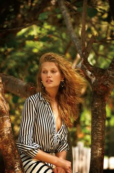 toni garrn by gilles bensimon for daily summer may/june 2015 - altuzarra