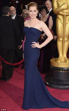 Amy Adams in Gucci / Academy Awards March 2014