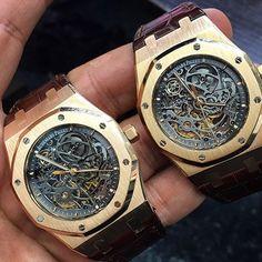 Audemars Piguet Royal Oak Skeleton Pink Gold