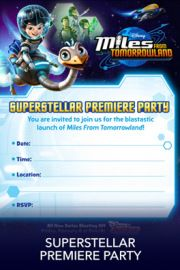 Miles from Tomorrowland Free Printables & crafts | SKGaleana