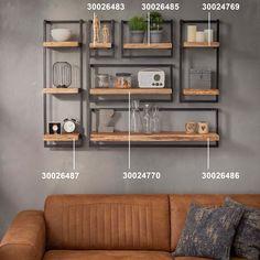 Etagère murale bois métal MELBOURNE | Etagères murales | Pier Import Pier Import, Shelves, Patio, Melbourne, House Ideas, Home Decor, Life, Modern Kitchens, Wood Wall Shelf