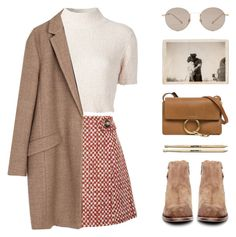 """MOCHA"" by arditach ❤ liked on Polyvore featuring Prada, Rachel Comey, Zara, H by Hudson, Gucci and Chloé"