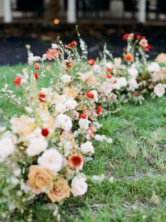 Southern Fall Wedding at Ashford Acres, Kentucky Growing garden ceremony Inspiration for a Southern Floral Wedding, Wedding Flowers, Aisle Flowers, Flower Installation, Fall Wedding Invitations, Floral Arch, Ceremony Decorations, Autumn Wedding, Garden Wedding
