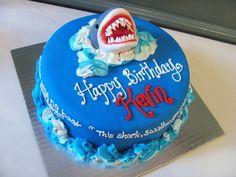 jaws birthday party | Jaws Shark Birthday Cake at NashvilleSweets.com