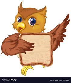 Owl Pics, Owl Pictures, Cute Owl Cartoon, Diy Room Decor For Girls, Blank Background, Borders For Paper, Border Design, Owls, Adobe Illustrator