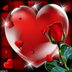 To my dear Joe♡♡♡,Love you♡. Heart Pictures, Heart Images, Love Pictures, Coeur Gif, Emoji Love, Hearts And Roses, Rose Images, I Love Heart, Heart Frame