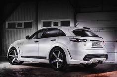 Infiniti FX Renegade, a Cool SUV that Drives Russian Girls Crazy [Video] Infiniti Fx35, Nissan Infiniti, My Dream Car, Dream Cars, Infiniti Vehicles, Hair Metal Bands, Cayman Gt4, Weird Gif, Stance Nation