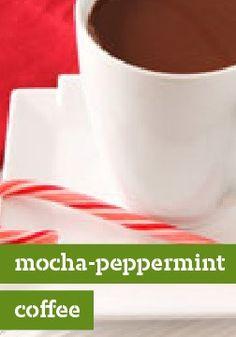Mocha-Peppermint Coffee