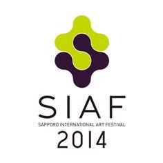 札幌国際芸術祭2014のロゴ:二面性の表現 | ロゴストック