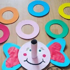 Funny Elephant Ring Toss Game - Moto Tutorial and Ideas Preschool Learning Activities, Indoor Activities For Kids, Infant Activities, Games For Kids, Diy For Kids, Fun Activities, Oral Motor Activities, Kids Crafts, Preschool Crafts