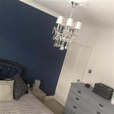 Best Stiffkey Blue Strong White Walls Cornforth White Floor 400 x 300