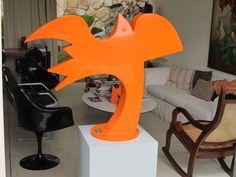 escultura roberto cavalcanti.brasil chapa de aço
