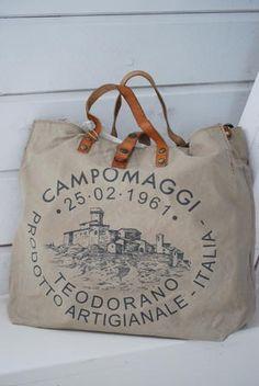 CAMPOMAGGI - SPORTA - BEIGE/NATURALE