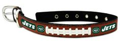 New York Jets Dog Collar - Size Medium