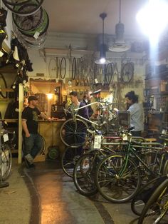 Chill bike shop, you should rent bikes and do it here