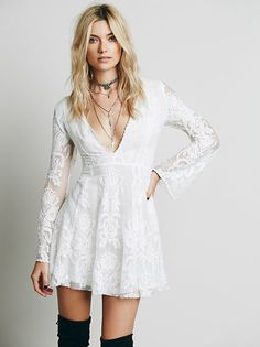 Reign Over Me Lace Dress from Free People!